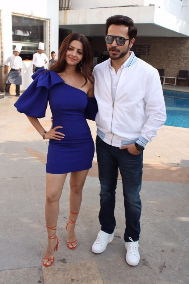 Vedhika Kumar And Emraan Hashmi Promoting Their Upcoming Film 'The Body'