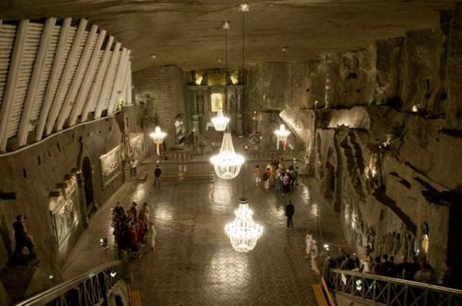 Have A Look Inside The Wieliczka Salt Mine