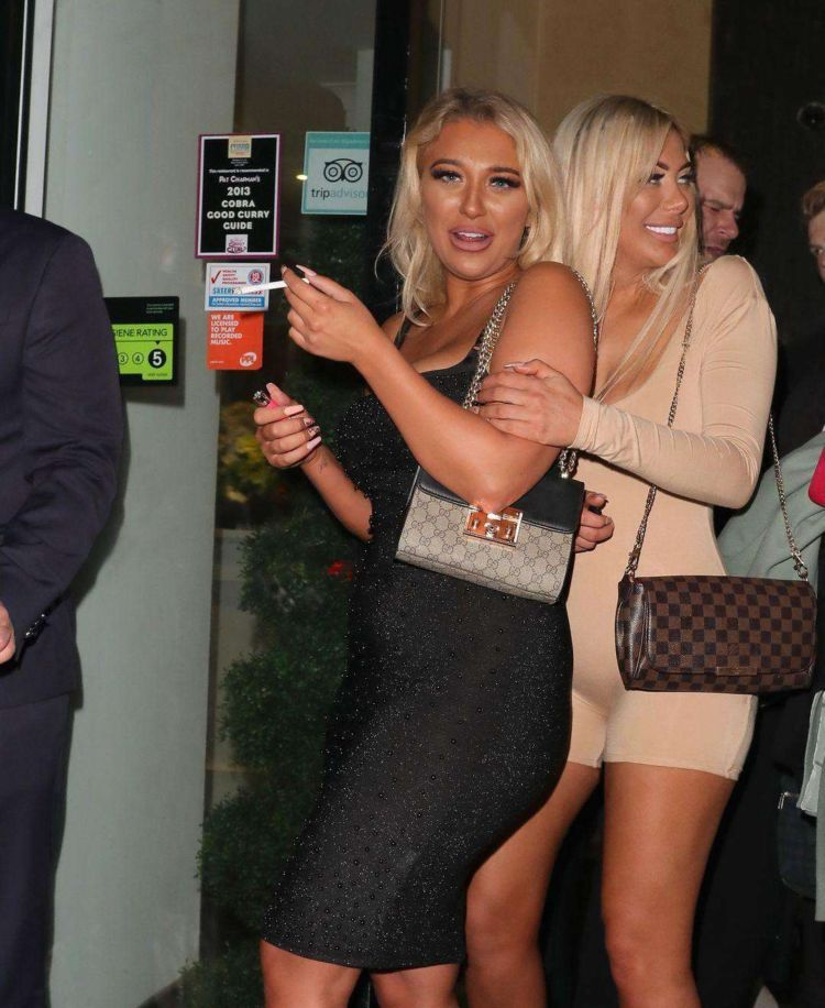 Chloe Ferry Candids At CHAK 89 In London