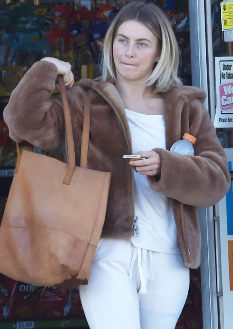 Julianne Hough Candids Out Without Makeup In Burbank
