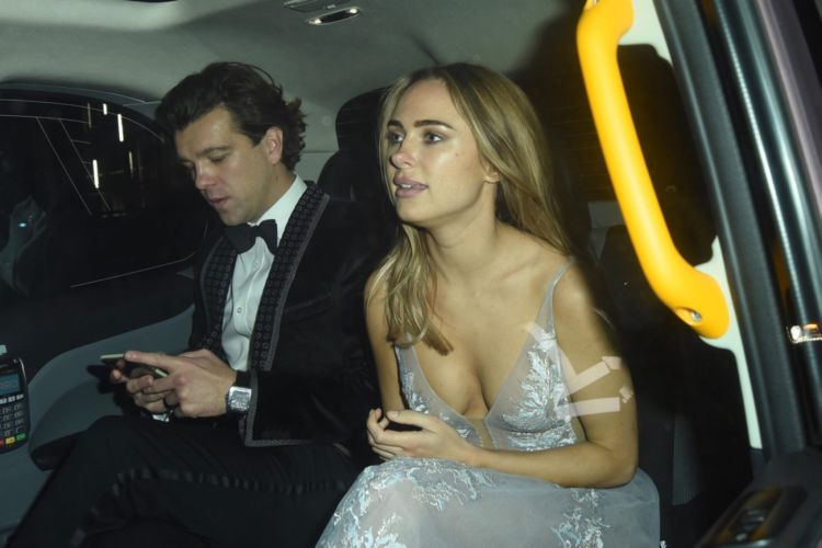 Kimberley Garner Spotted Leaving Chain Of Hope Annual Ball In London