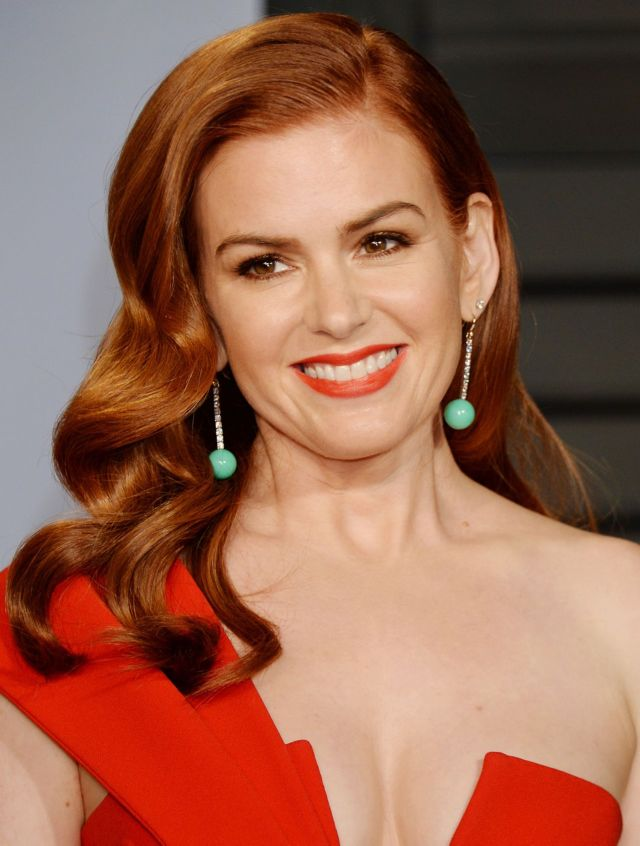 Isla Fisher At The Vanity Fair Oscar Party 2018