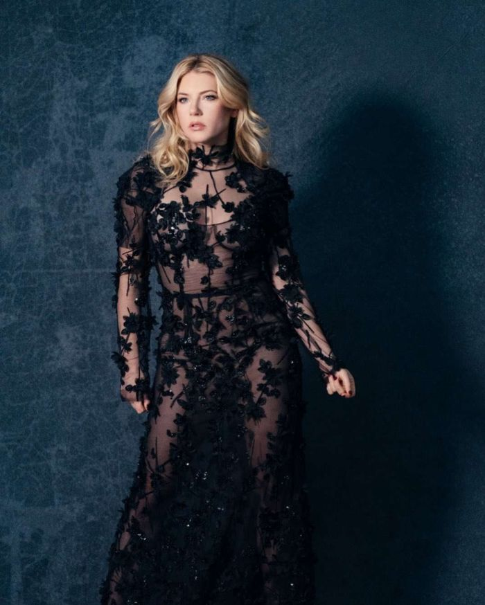 Katheryn Winnick Covers The 71 Magazine's December 2019 Issue