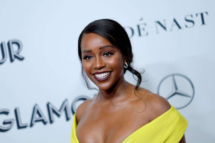 Aja Naomi King Attends 2019 Glamour Women Of The Year Awards
