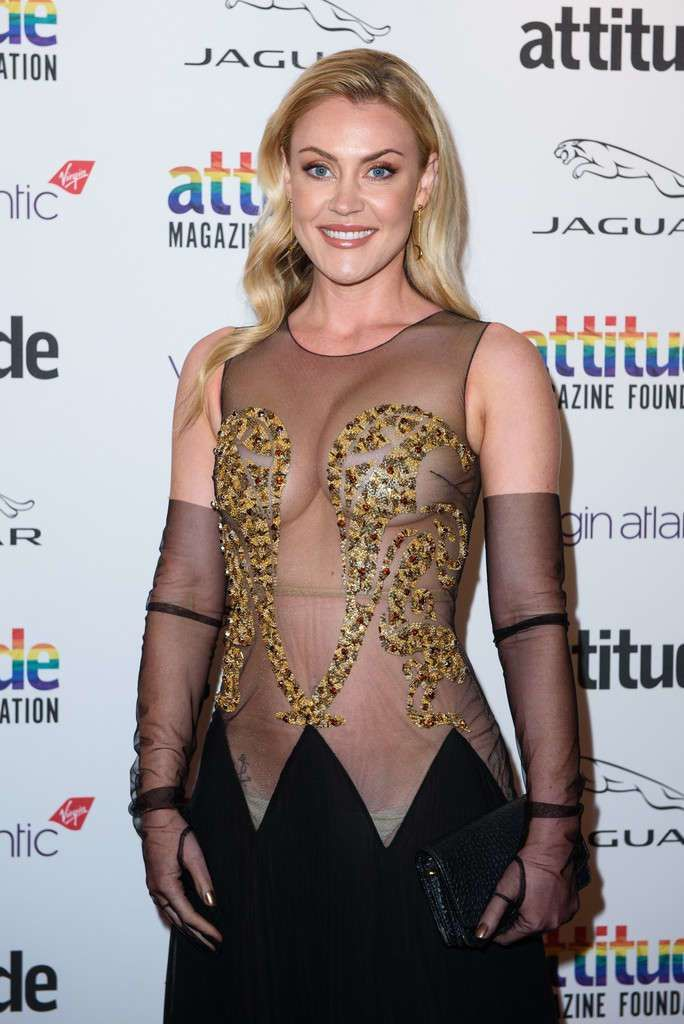 Camilla Kerslake Turned Heads At Attitude Awards 2019